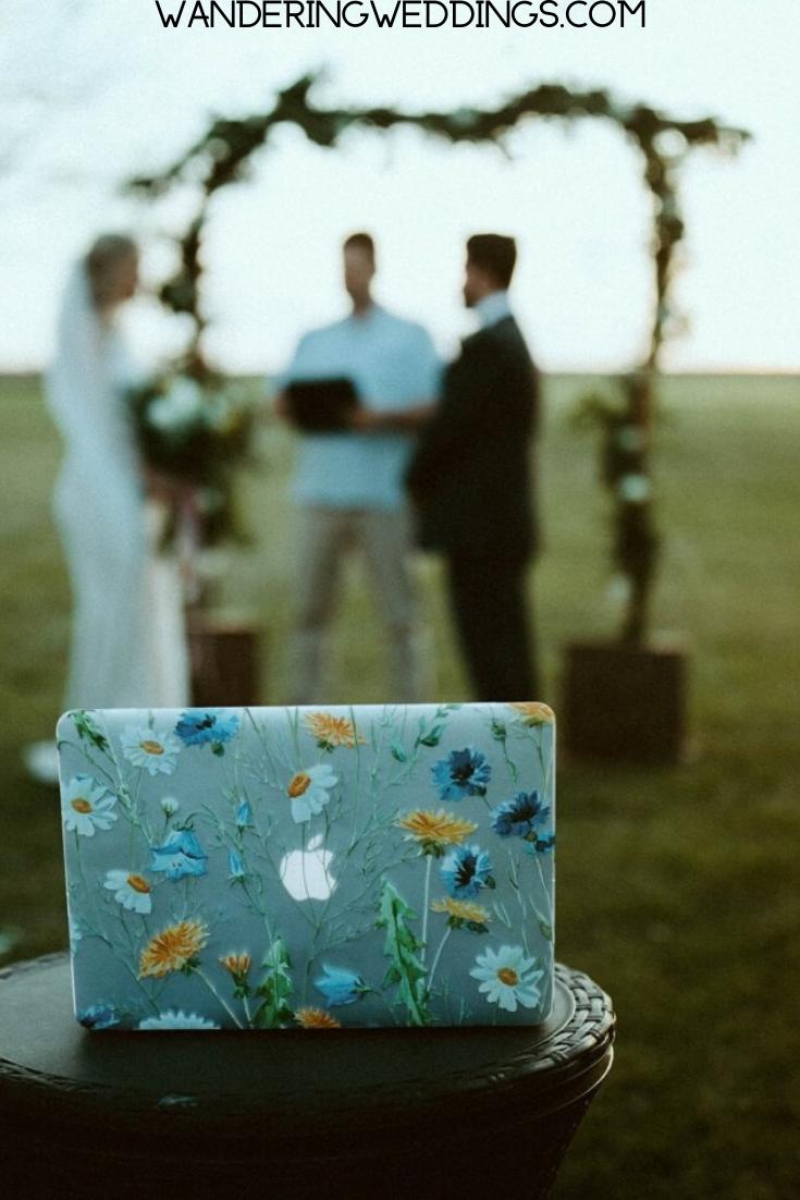 Virtual Wedding Invitation Template Live Stream Wedding Etsy In 2020 Wedding Invitation Templates Wedding Invitations Diy Wedding Invitations