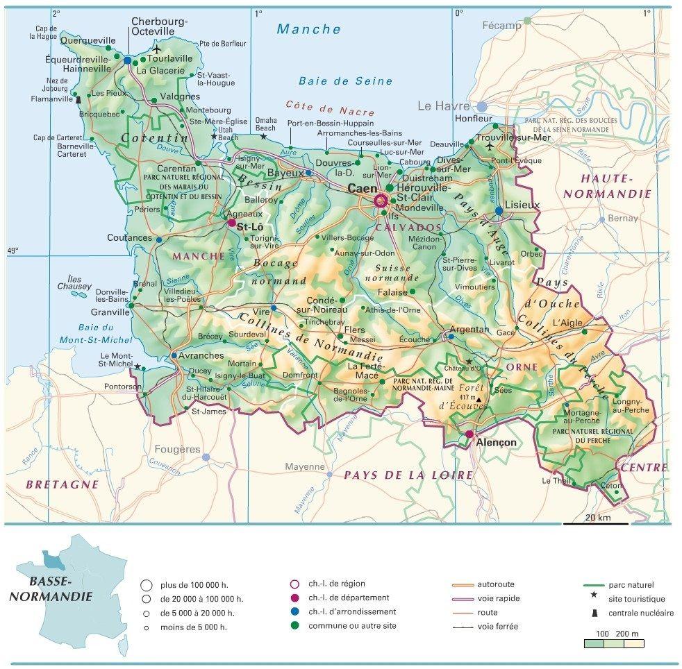 alencon region basse normandie