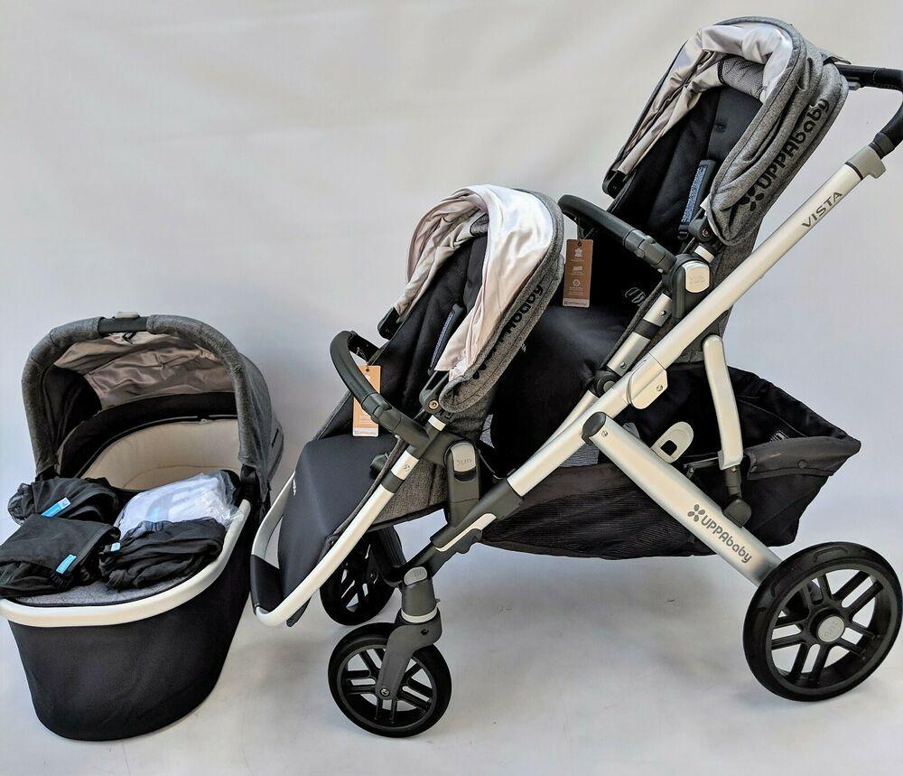 Uppababy Vista Double stroller 2018 jordan UPPAbaby