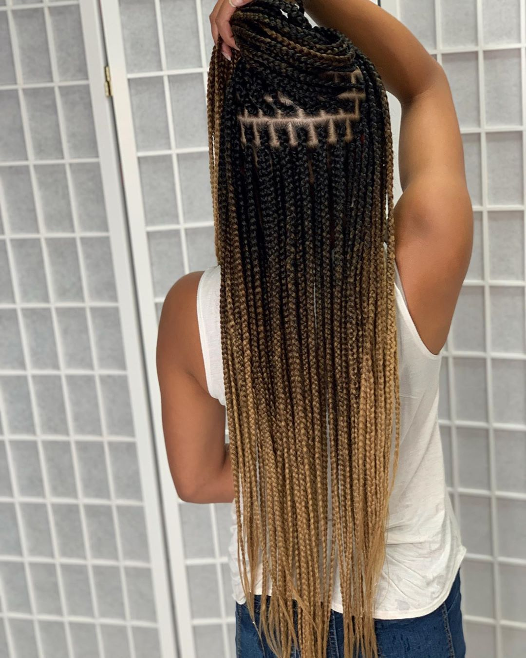 Excellent Photographs Box braids penteado Strategies Of course, at one time not too long ago, each time a qualified African-American female would not hav #Box #braids #Excellent #penteado #Photographs #Strategies
