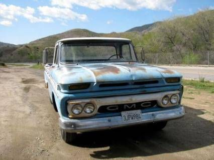 1965 GMC Custom Cab V6 Pick Up For Sale | My Old Truck