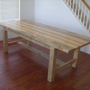 Amazing Custom Beetle Kill Pine Dining Table By Alpine Furniture Company