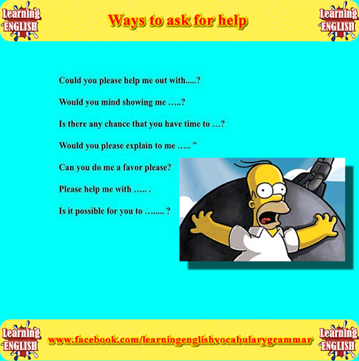 Ways to ask for help - Repinned by Chesapeake College Adult Ed. We offer free classes on the Eastern Shore of MD to help you earn your GED - H.S. Diploma or ...