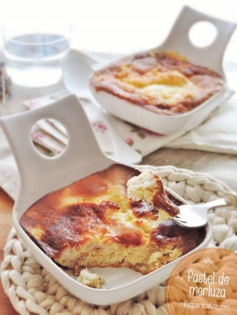 Pastel De Merluza Fácil Rápido Y Delicioso Pequerecetas Pastel De Merluza Cocinar Pescado Pastel De Pescado