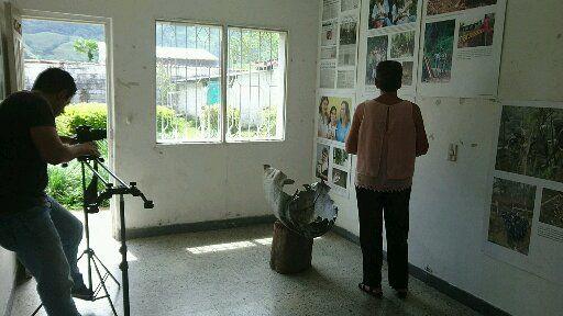 Pastora Mira contando su historia del conflicto armado para #Desarmados