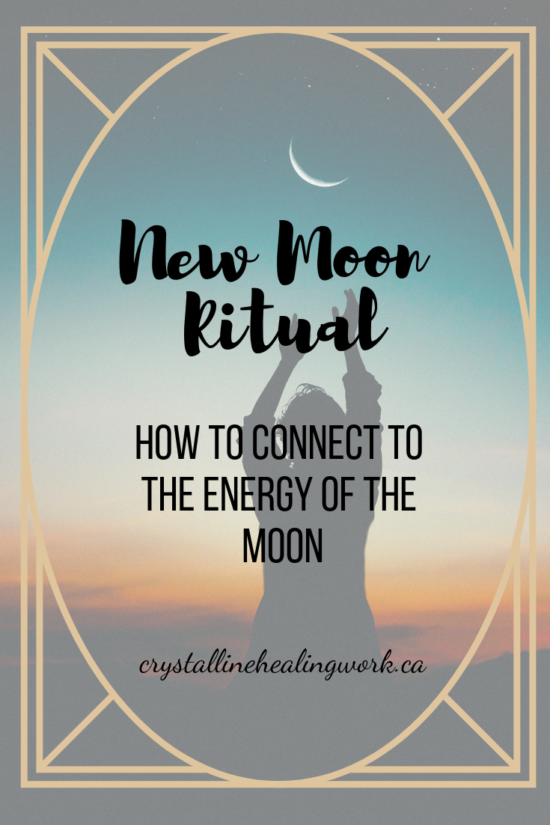 New moon pinterest pin #newmoonritual
