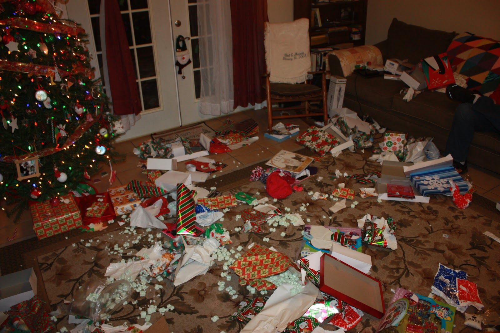 Does your house end up looking like this once the holidays are over? Isn't cleaning up the mess the LAST thing you want to do when your company leaves? Let ECOMAIDS take care of the mess while you find some time to relax. An ECOMAIDS cleaning is a great gift to give yourself. Also, our e-Gift Cards make a great gift for that friend/family member hosting this year's gathering! Visit www.ecomaids.com to order yours now!