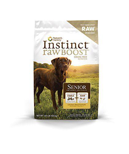 Natures Variety Instinct Raw Boost Senior Grain Free Chicken Meal