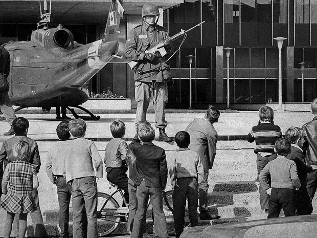 Flq October Crisis 1970 Canadian History Canadian Military