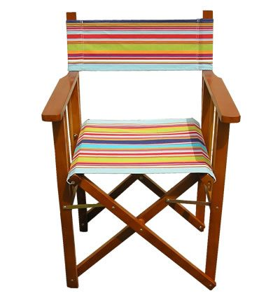 director chair covers in stores wooden outdoor rocking chairs directors flamenco fabric stripes dcs