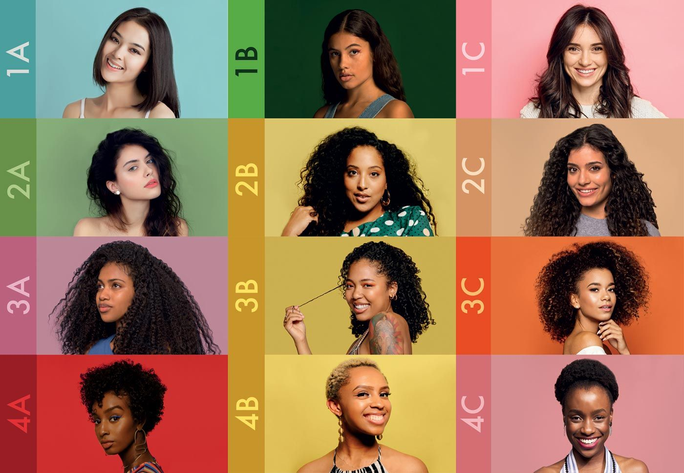 Find Your Hair Type In 2020 Hair Type Chart Hair Type Natural Hair Types