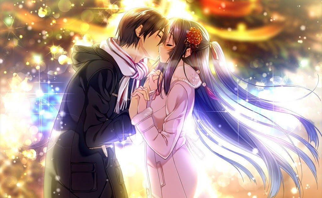 15++ Wallpaper Anime Couple Romantis di 2020 Pasangan