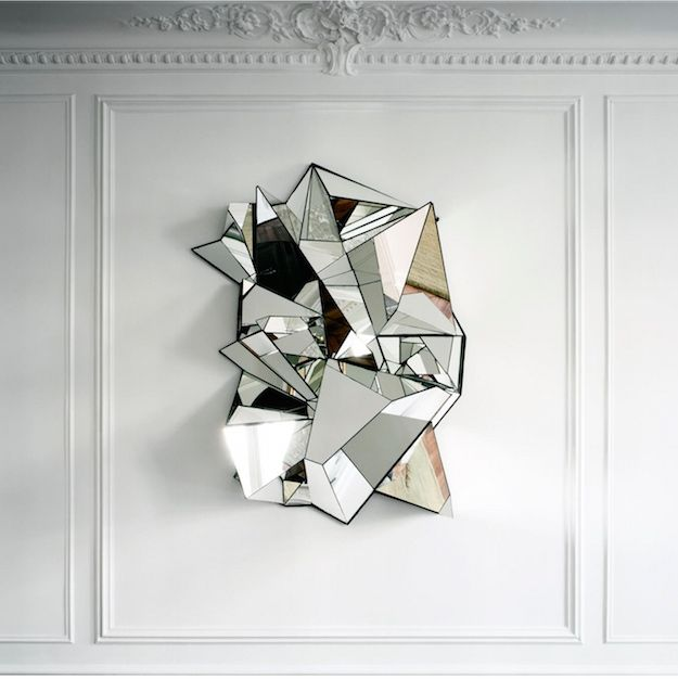Mirror Sculpture | Unique Home Decor To Set Your Living Room Apart From The Rest