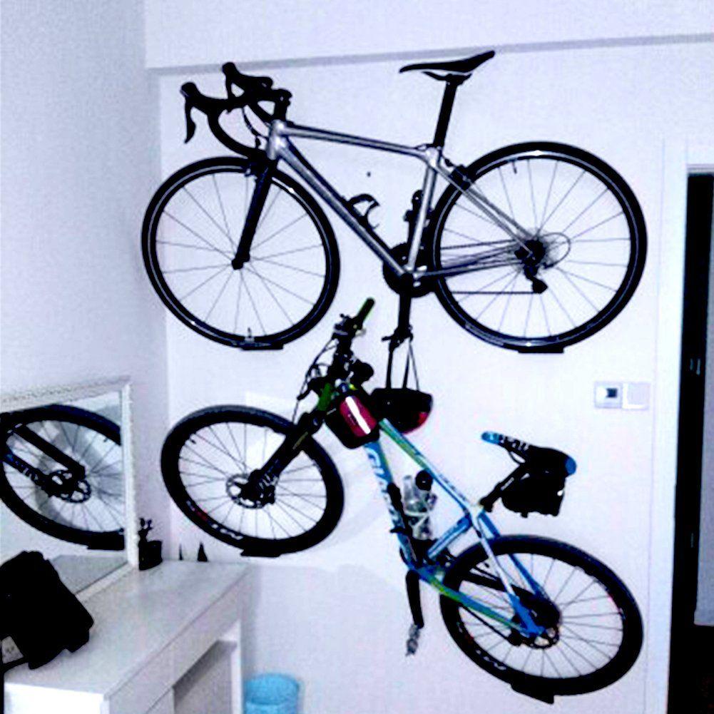 Bike rack garage wall mount bike hanger storage system