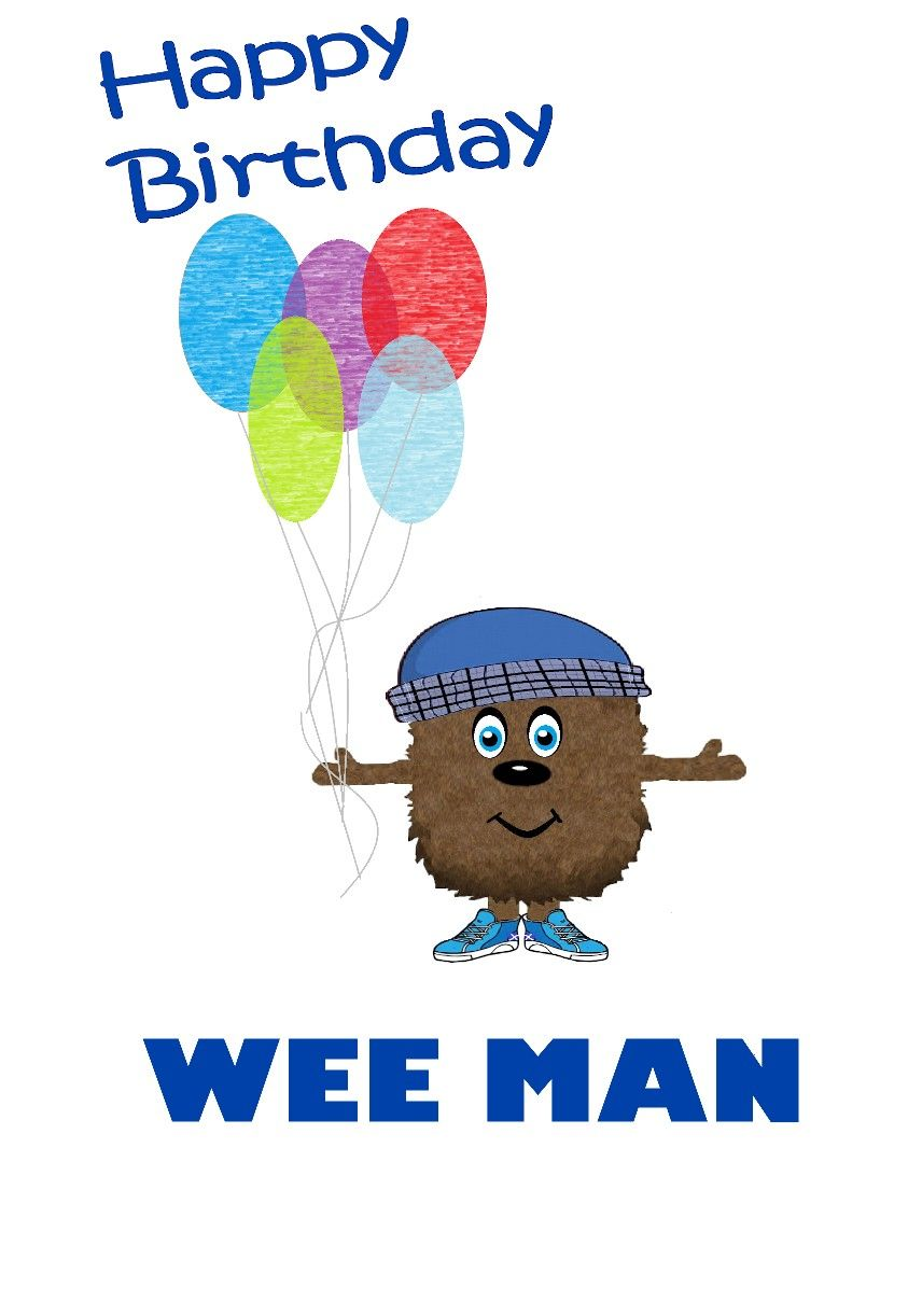 Happy birthday wee man scottish greetings card stuff to buy happy birthday wee man scottish greetings card kristyandbryce Images