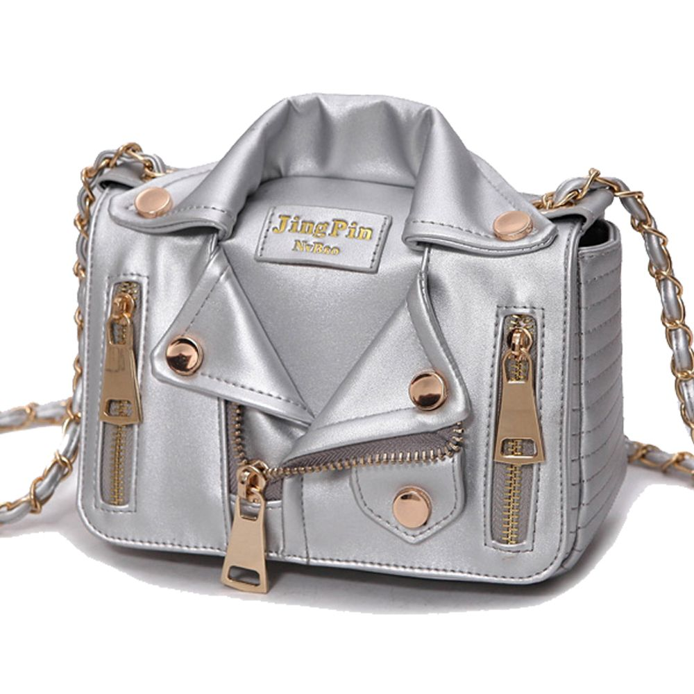 cool New European Brand Designer Chain Motorcycle Bags Women Clothing 8a984f1878823