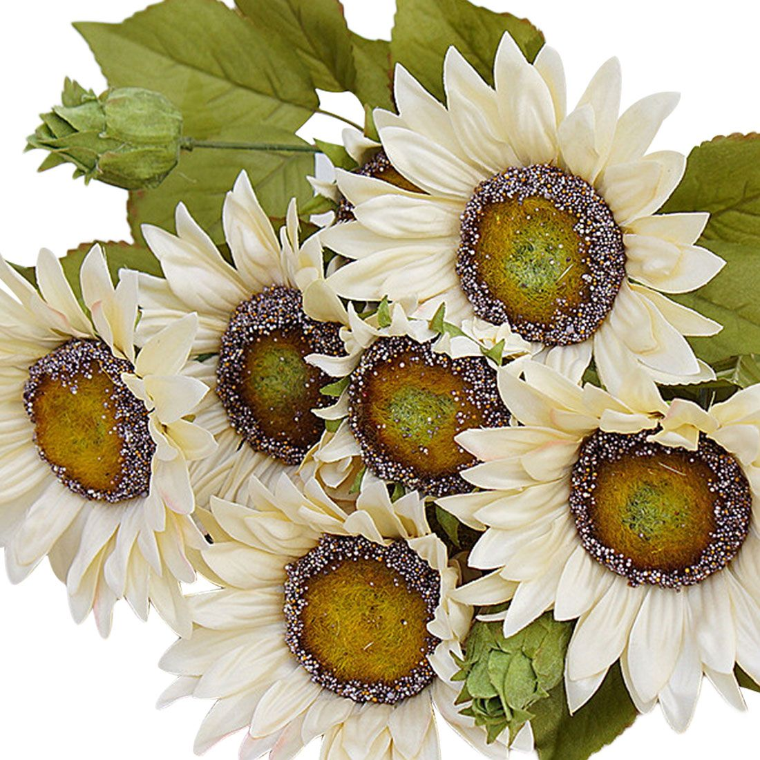 High Quality French Style Artificial Sunflower Silk Flowers Fake