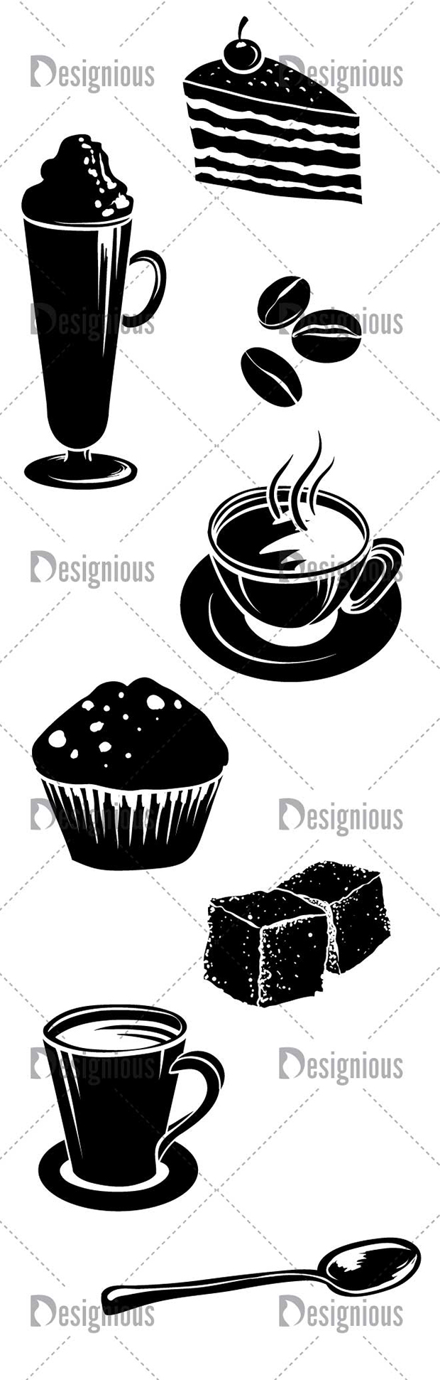 Free Vector Coffee Pack Coffee pack, Vector free, Free t
