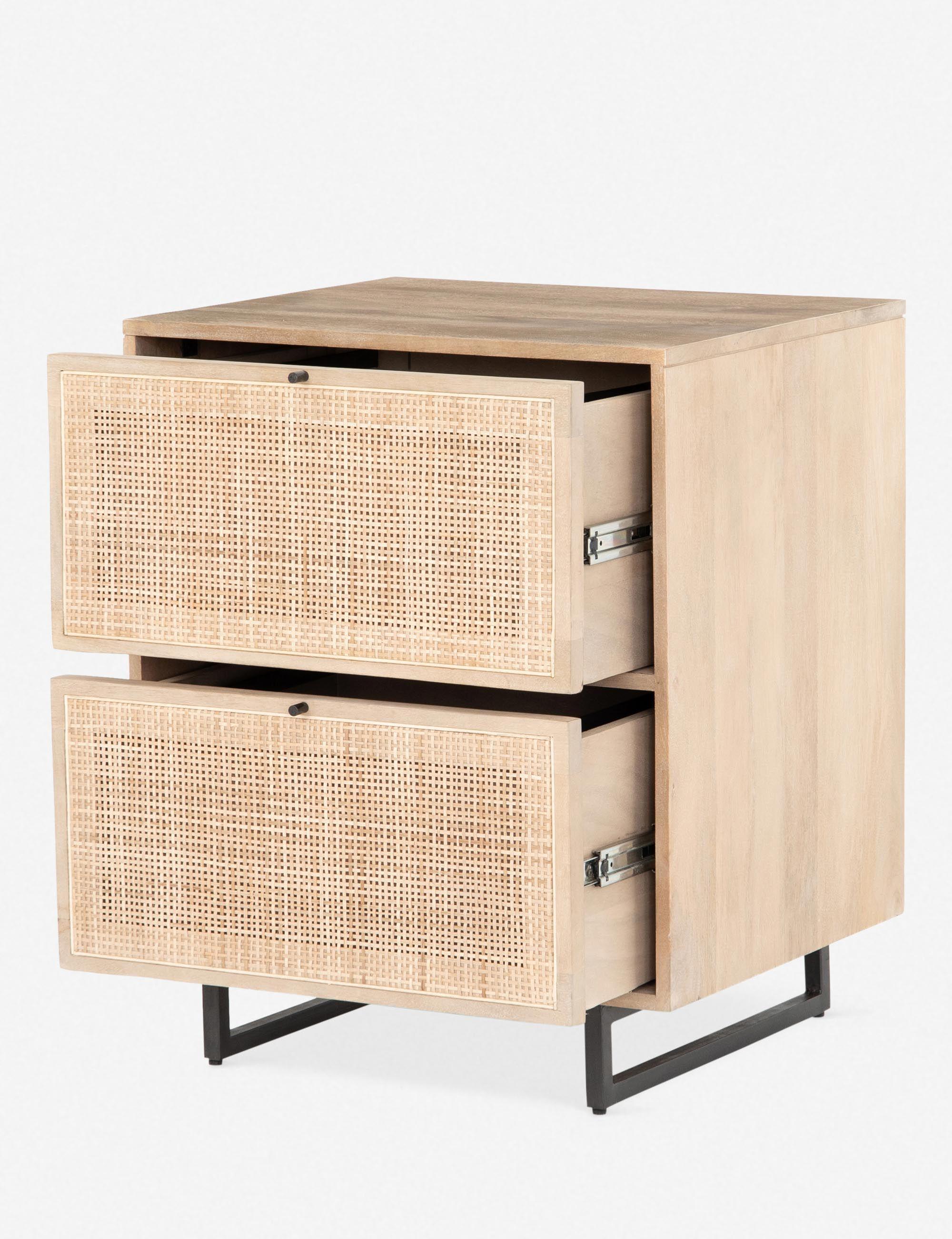 Hannah Filing Cabinet Natural Office Storage Furniture Filing