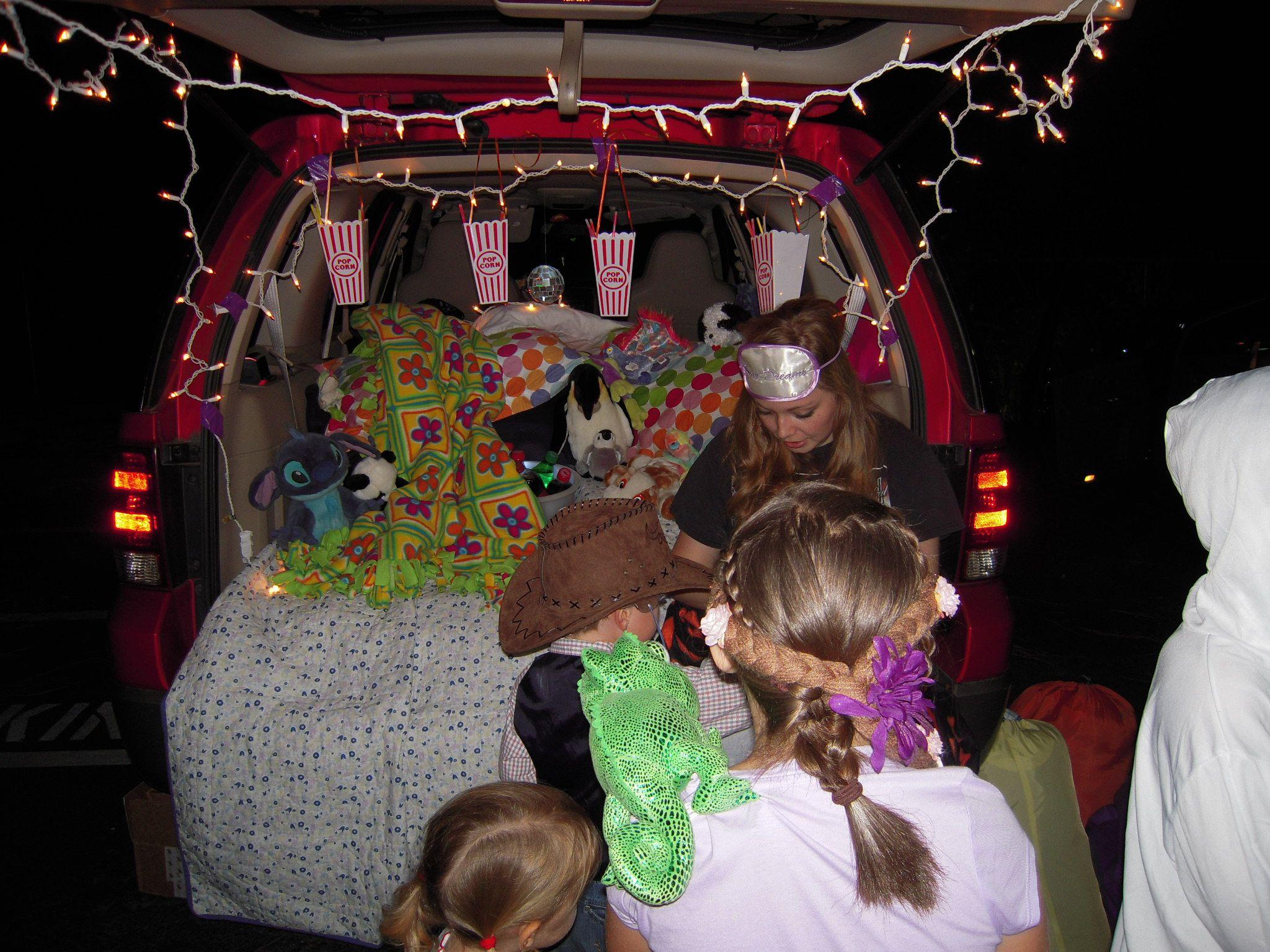 Movie Night Trunk or treat, Movie night, Family night