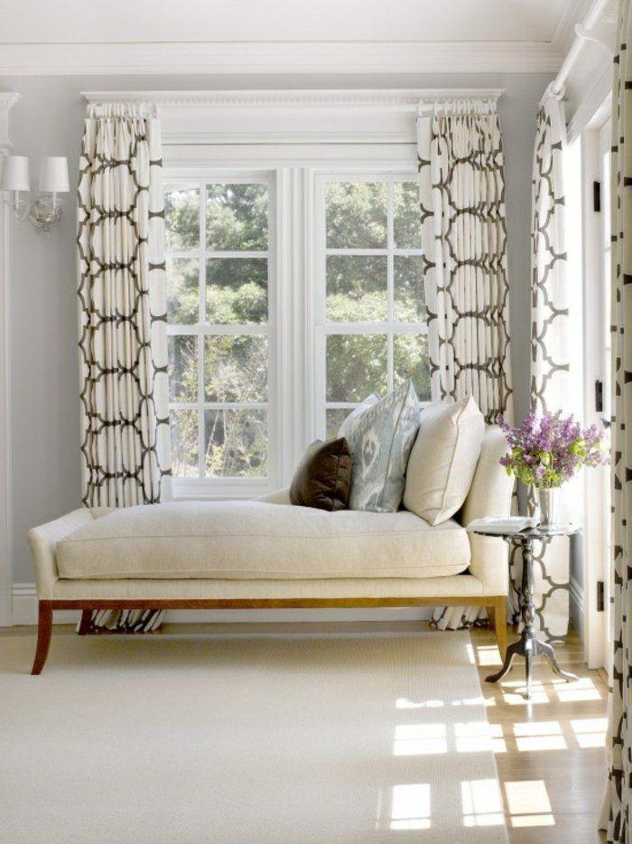 les rideaux occultants les plus belles variantes en photos fen tres pinterest rideaux. Black Bedroom Furniture Sets. Home Design Ideas