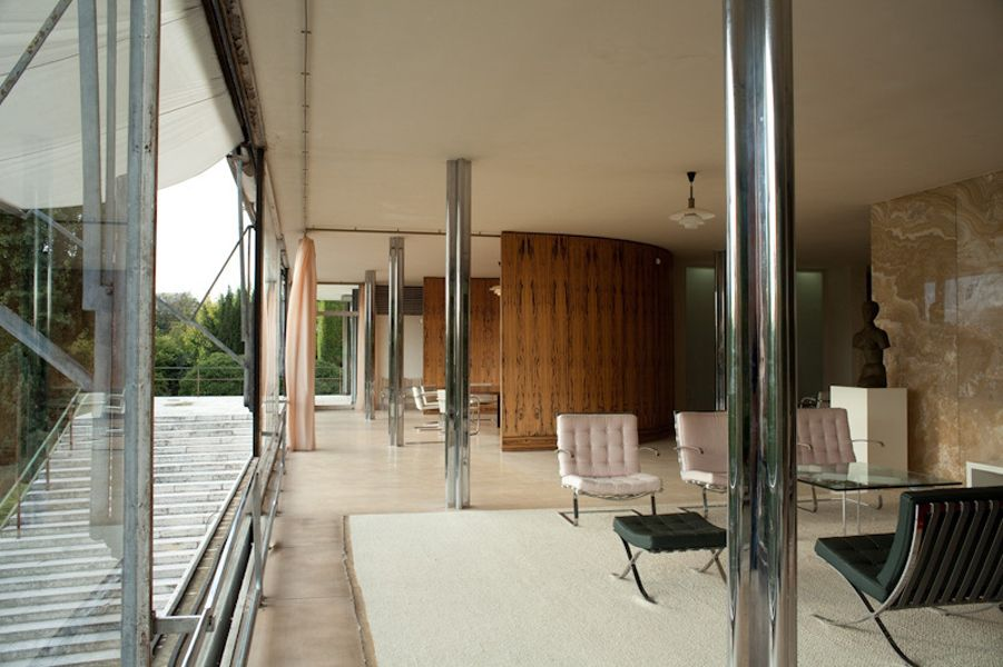 1930 House Tugendhat Ludwig Mies Van Der Rohe 901 600 Mies Van Der Rohe Van Der Rohe Architecture