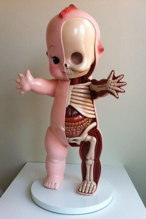 Perfect Mixture Of Cute And Creepy By Jason Freeny Kewpie
