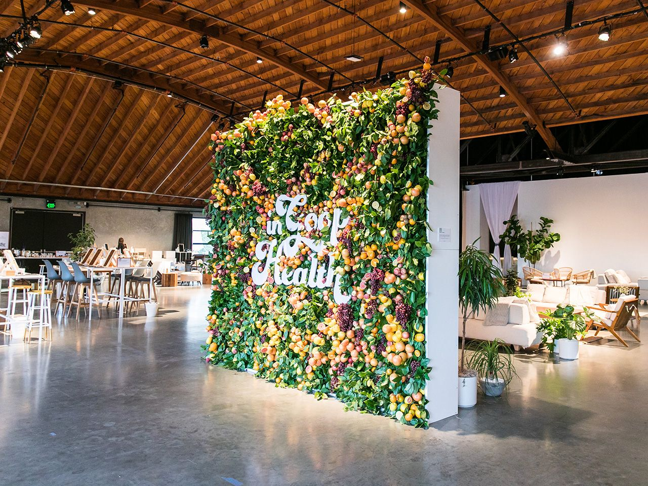 From brand activations to weddings, we've been seeing some beautiful live walls that are a beautiful backdrop for conversations and photos at events.   Here are a few of our favorite live walls for your event planning inspiration.