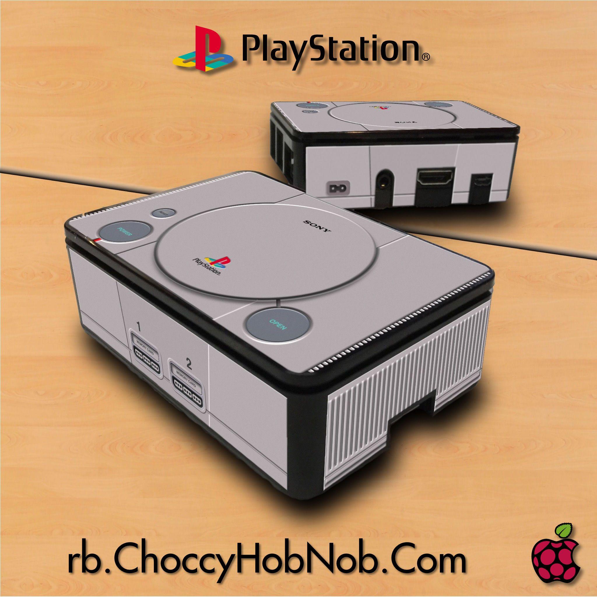 RetroPie PlayStation Premium Case | Raspberry Pi Premium