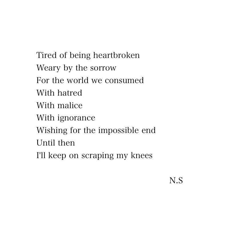 A Short Poem Written By NS Follow Me On Twitter Nellysoegianto