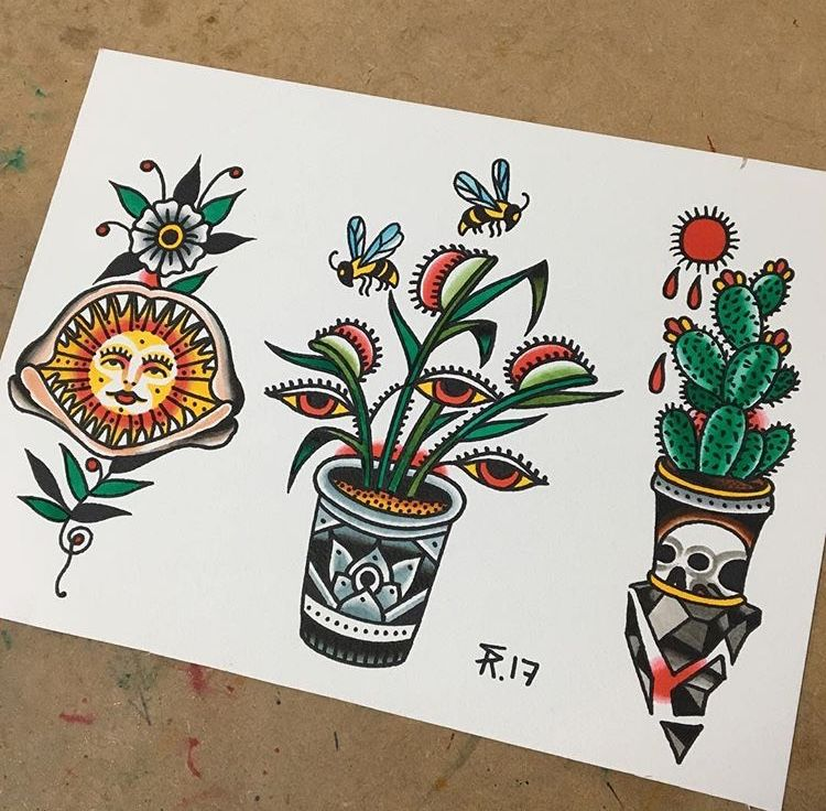 Pin By Lauren Skinker On Tattoos Traditional Tattoo Art American Traditional Tattoo Traditional Tattoo Flowers