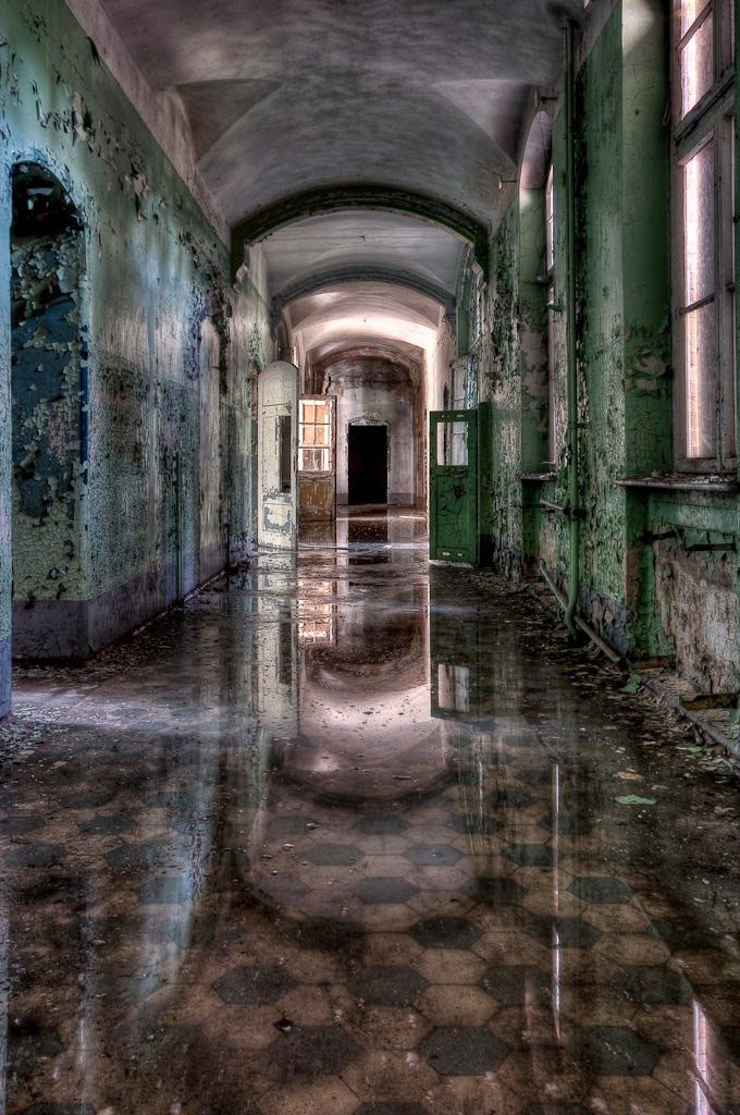 10 Scariest Abandoned Hospitals in the world
