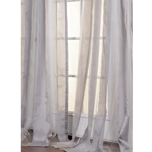 See Through Curtains sheer curtains give the illusion that it is see through and it