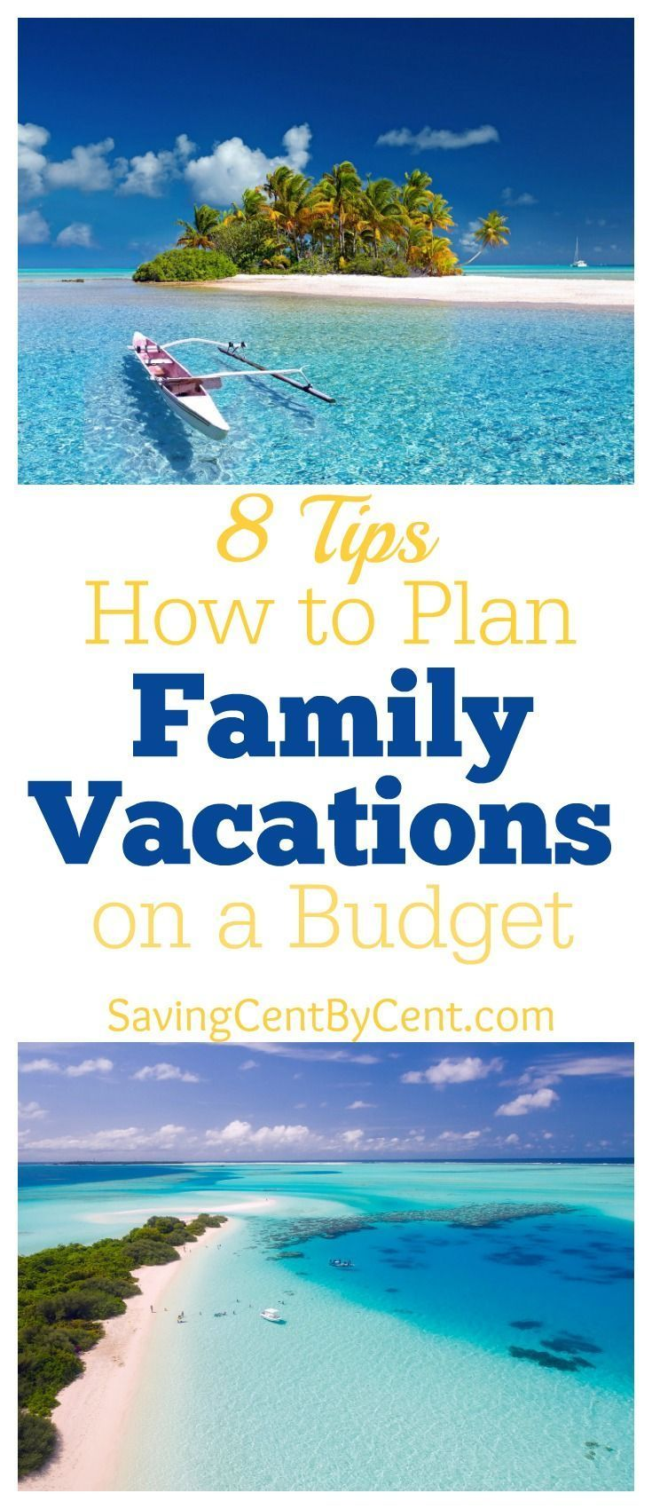 8 Tips How To Plan Family Vacations On A Budget