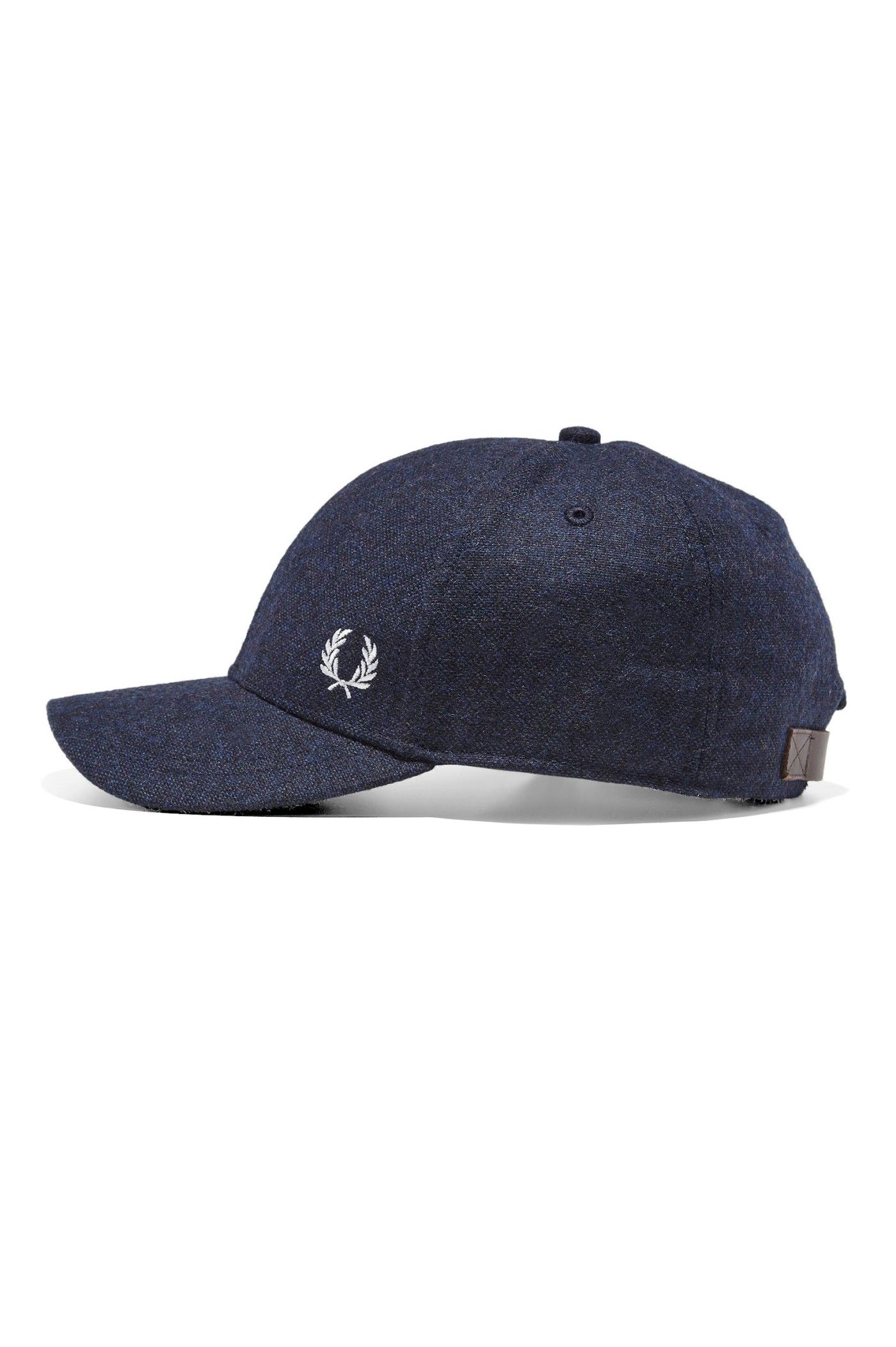 buy popular ad5af f7559 Fred Perry - Boiled Wool Baseball Cap Navy