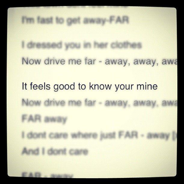 @deftonesband #deftones #lyrics #bequietanddrive(faraway) | Deftones