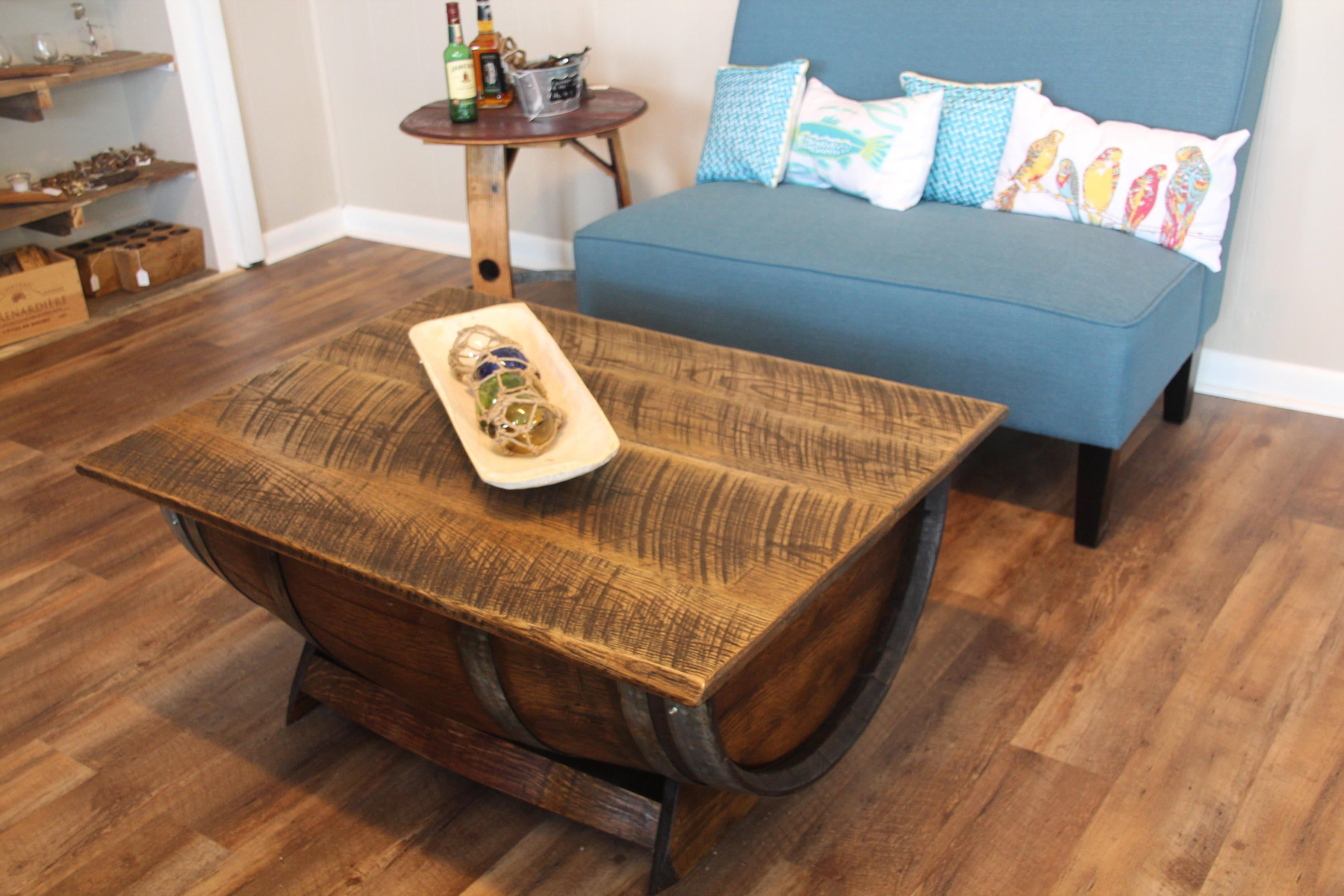 41+ Wine barrel coffee table with storage inspirations