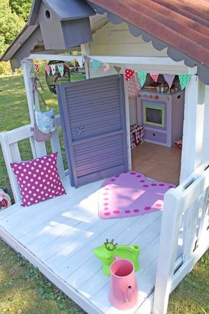 Les 20 meilleures id es de la cat gorie cabane jardin enfant sur pinterest cabane pour enfants - Cabanes de jardin originales ...