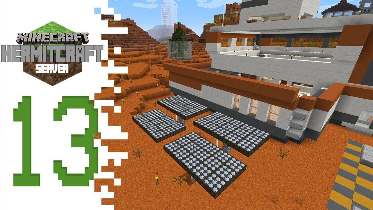 Hermitcraft Minecraft Ep13 Solar Panels And Glass Case Solar Panels Solar Paneling