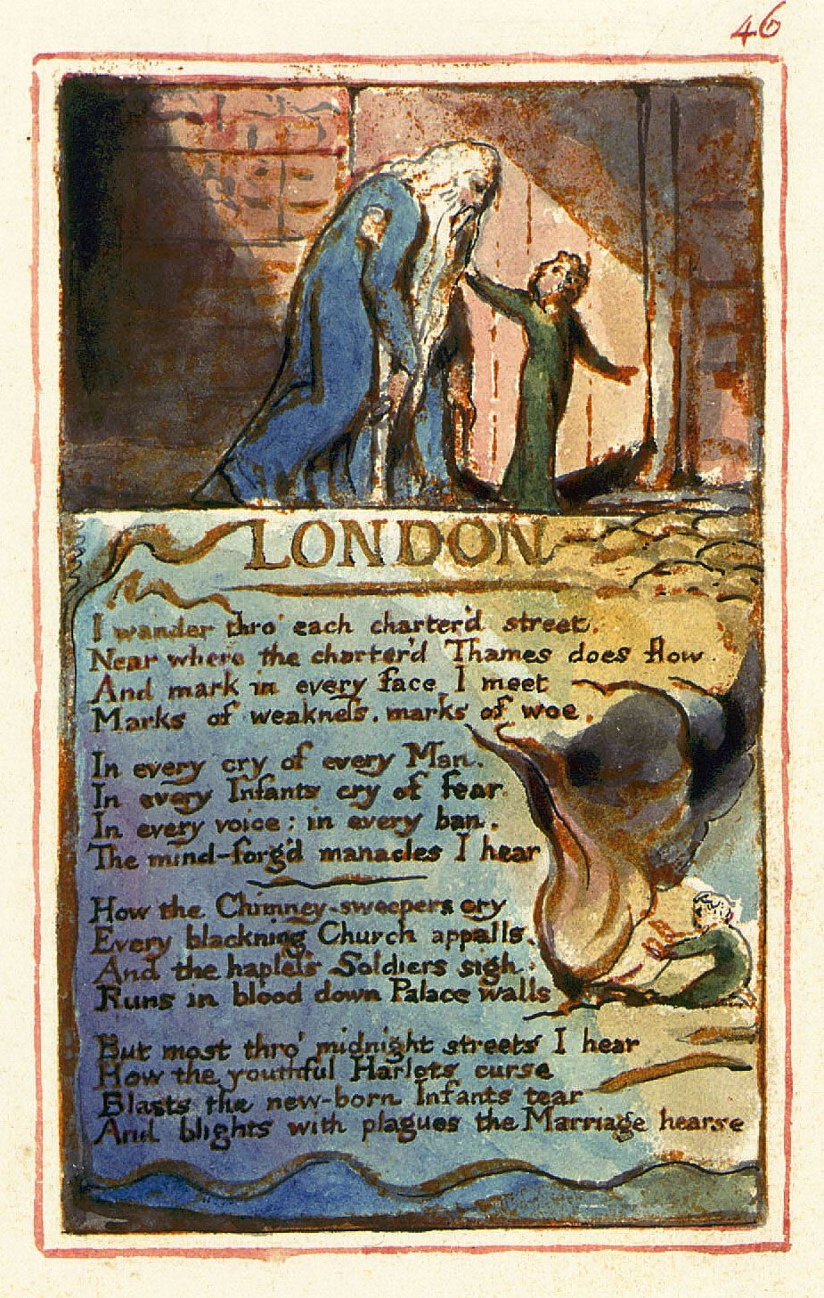William Blake Songs Of Experience 1794 London The Most