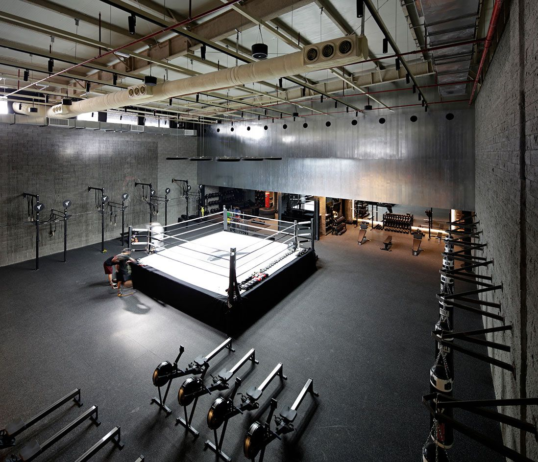 Interior Design Ideas For Home Gym: The Burrow: Lab100 Designs Kuwait's Most Stylish Boxing