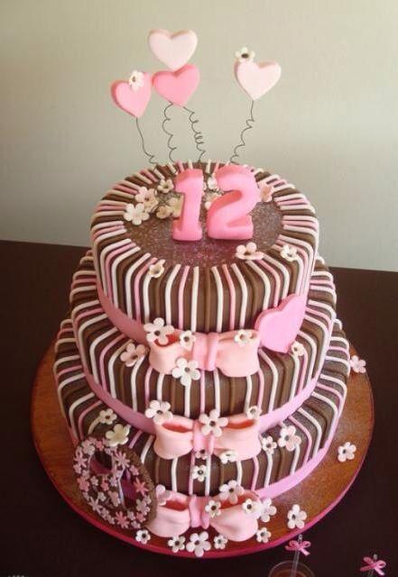 Cute cake for preteens or teen girls Carys birthday cake