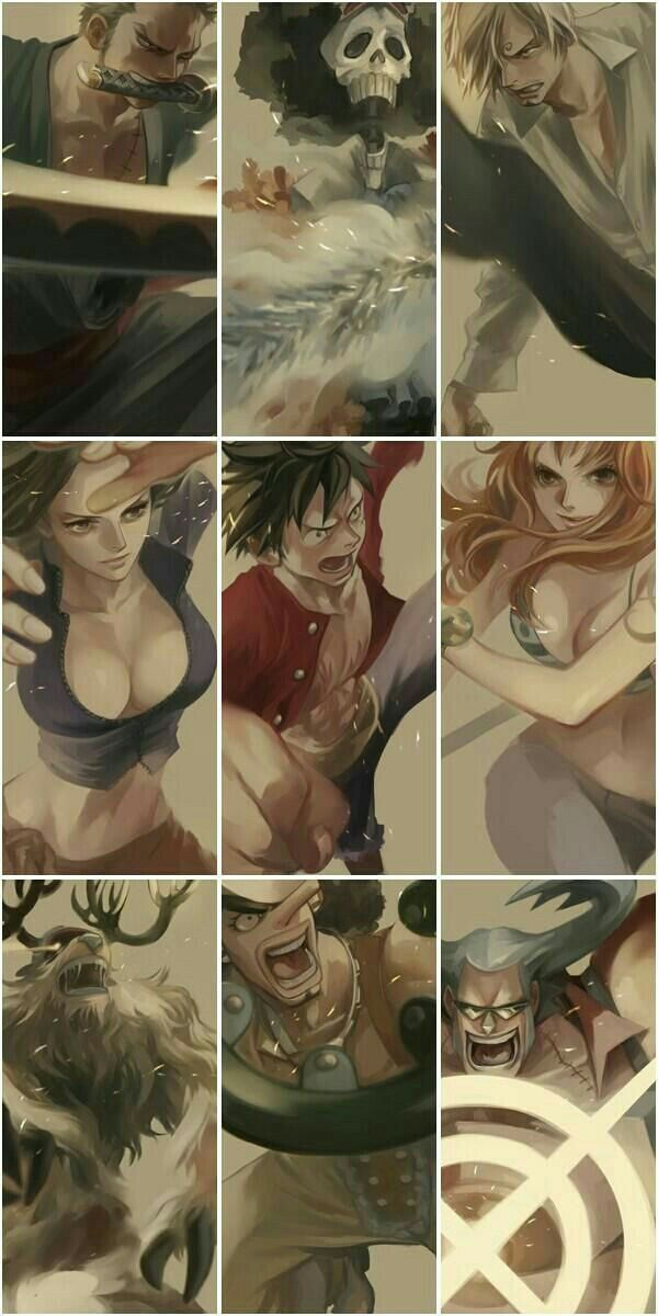 Tổng hợp những hình ảnh đẹp nhất One Piece