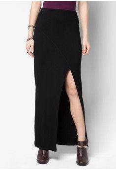 Something Borrowed Maxi Slit Skirt #onlineshop #onlineshopping #lazadaphilippines #lazada #zaloraphilippines #zalora