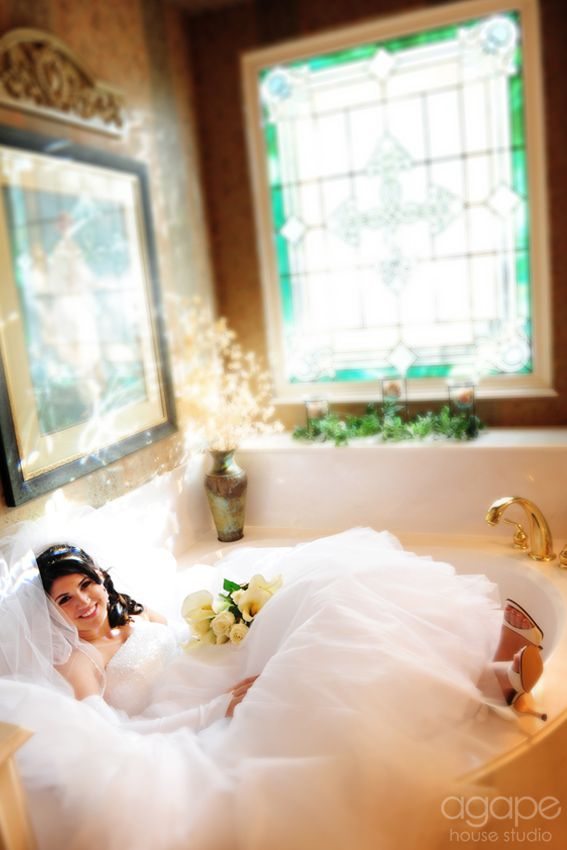 bathtub bridal