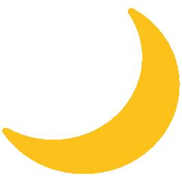 Crescent Moon Emoji Moon Sun Moon