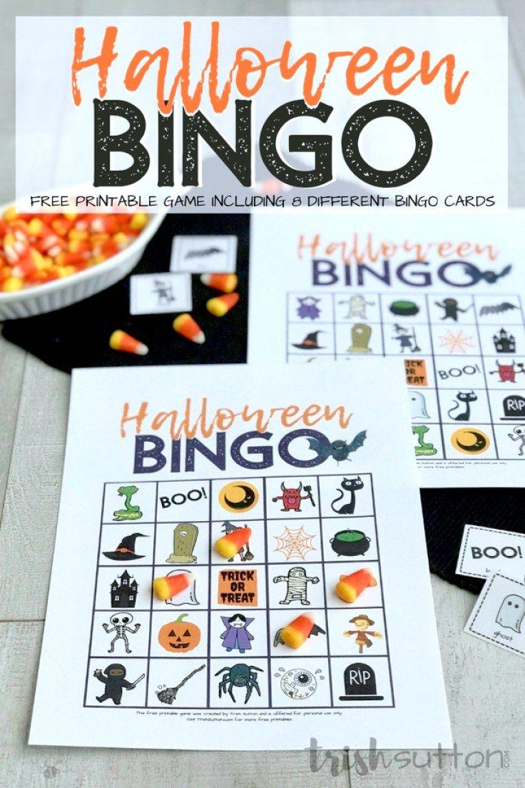 Halloween Bingo Halloween bingo, Halloween games, Bingo