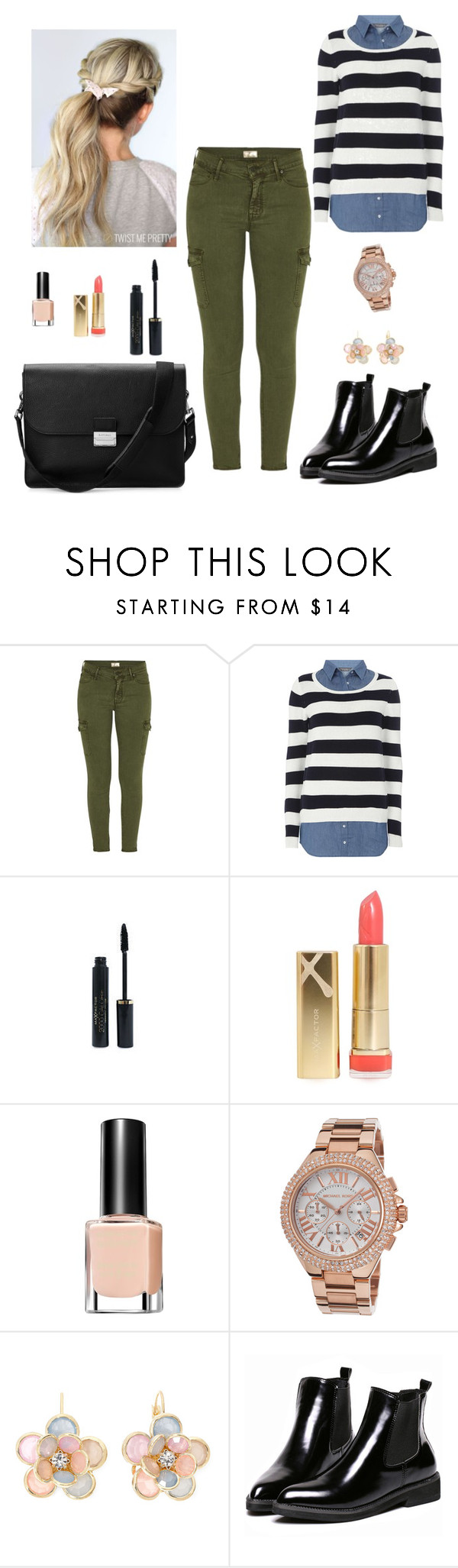 """Bez naslova #915"" by stypayhorlikson1d ❤ liked on Polyvore featuring Mother, Dorothy Perkins, Max Factor, Michael Kors, Mixit and Aspinal of London"