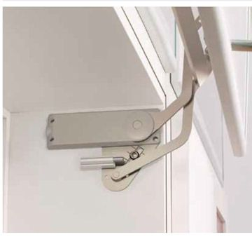 Vertical Swing Lift Up Mechanism But Can We Do That If Laundry Falling From Above Bathroom