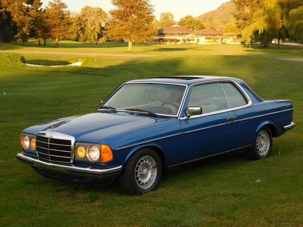 Final Year Euro Coupe 1985 Mercedes Benz 230ce With Images